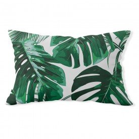 almofada baguete costela de adao verde