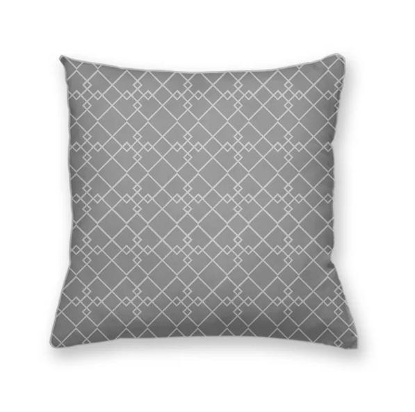 almofada decorativa own cinza geometrica almgeo013sf