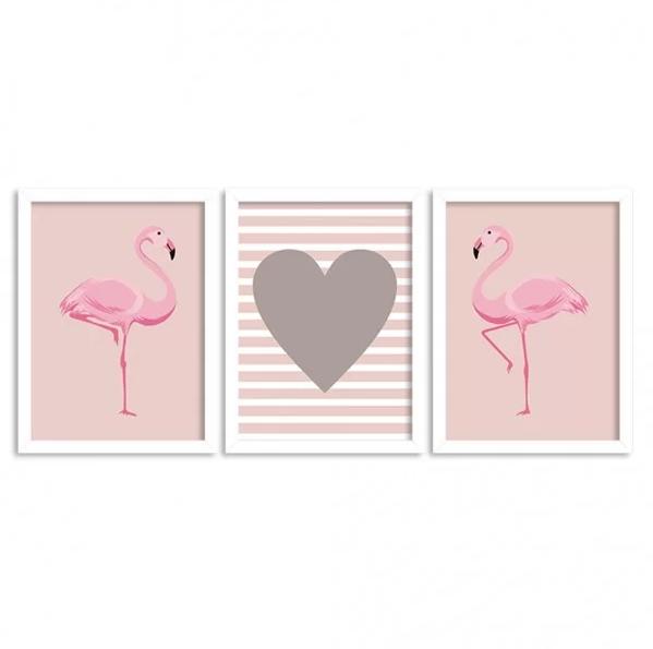 quadros rosa prego e martelo