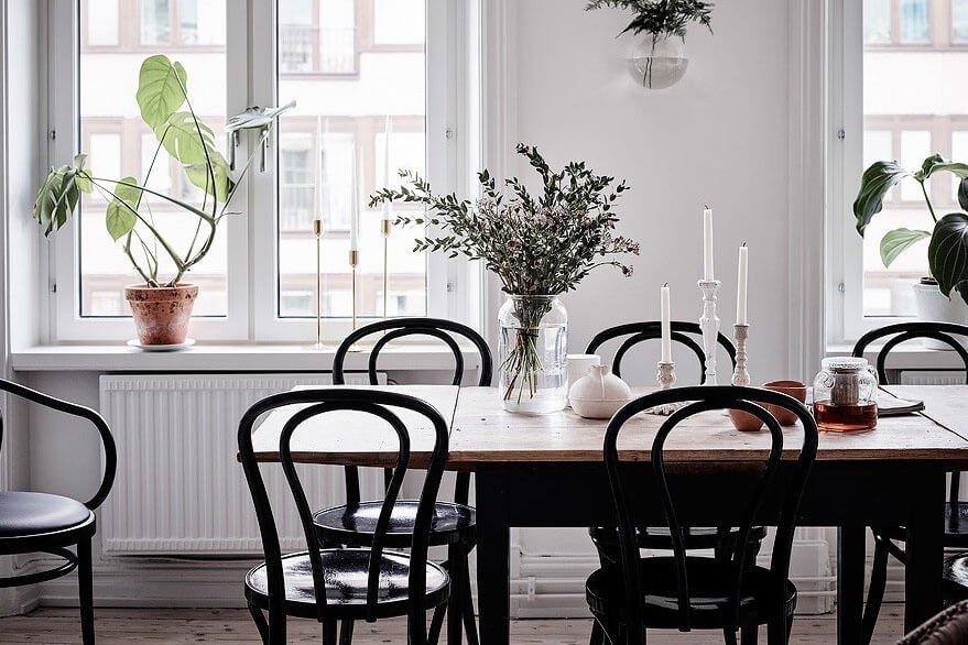 mesa de jantar prego e martelo