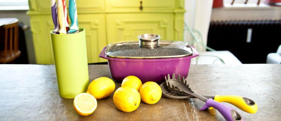 Dicas para ter uma cozinha colorida e alegre sem exageros.