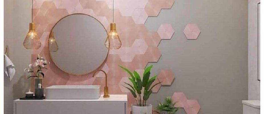 Revestimento hexagonal: um coringa da decoração