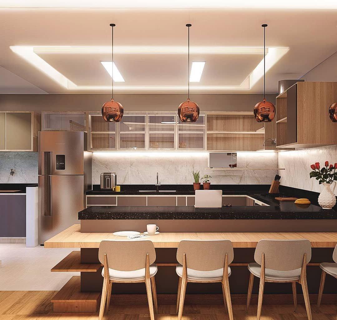 cozinha integrada prego e martelo