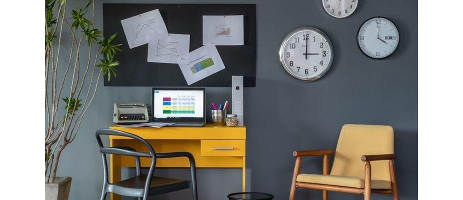 Cores para um home office produtivo
