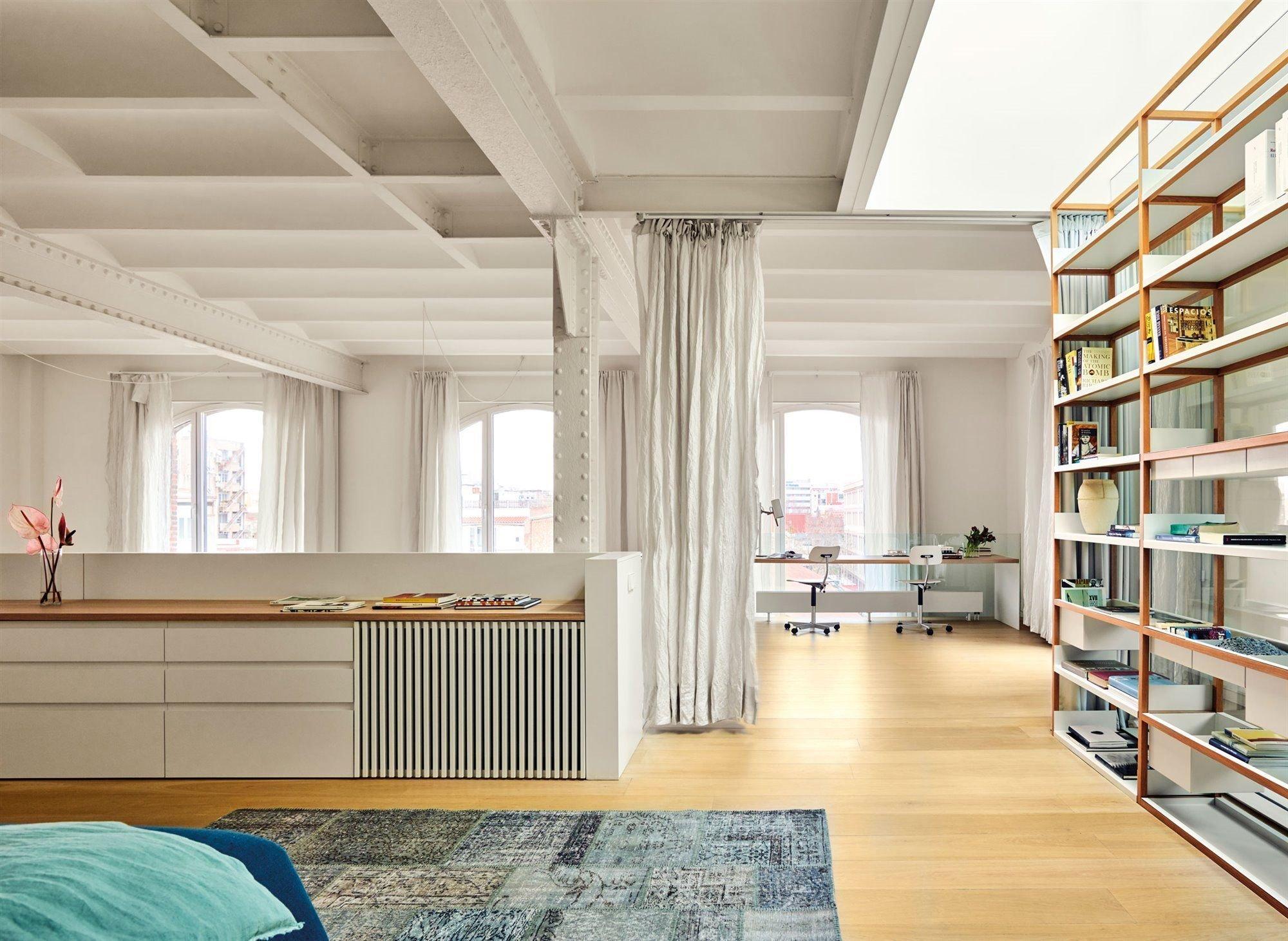 cortinas dividir ambientes prego e martelo